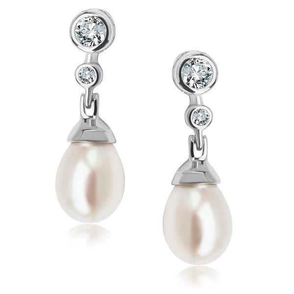 Kolczyki z perłą naturalną - Biżuteria srebrna dla każdego tania w sklepie internetowym Silvea