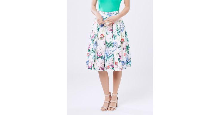 Missing You Midi Skirt