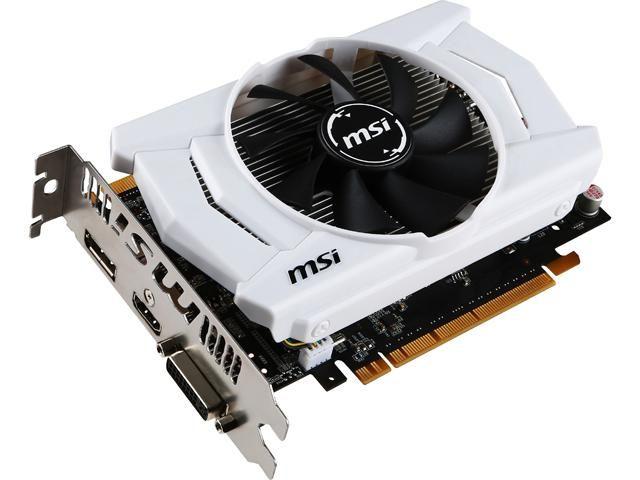 MSI GeForce GTX 950 DirectX 12 GTX 950 2GD5 OCV1 2GB 128-Bit GDDR5 PCI Express 3.0 x16 HDCP Ready SLI Support Video Card