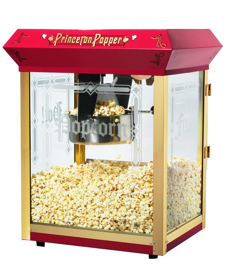 Features:  -Switches include: Spot light warmer, stirrer and pot heater.  -Kernel and oil scoop are included.  -Popcorn scoop is included.  -Popcorn machine.  -Tempered Glass .  -Warming Deck.  Color: