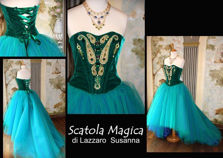 Corsetto velluto by Scatola Magica