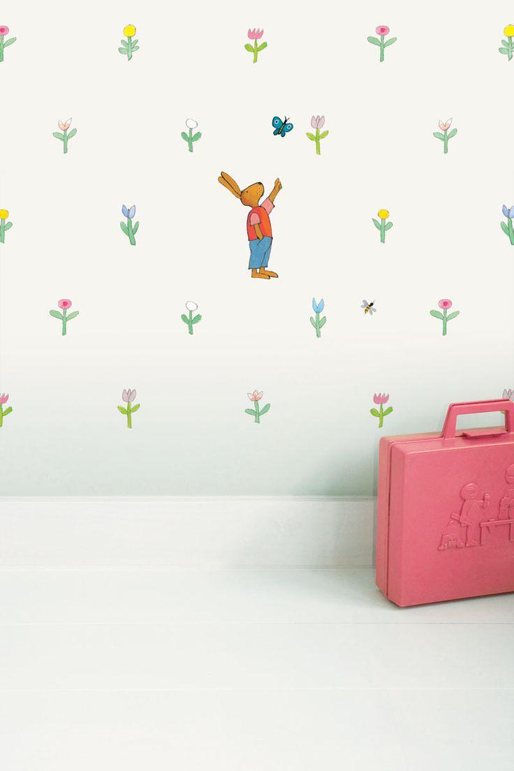 132 best bb wall images on pinterest bb kids rooms and pillows kikker behang voor de babykamer gebroken wit kek amsterdam