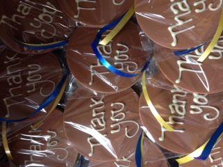 Presents for hardworking volunteers at Bury District CAB