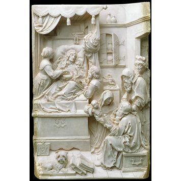 Death of the Virgin   Lucas, Richard Cockle   V ivory