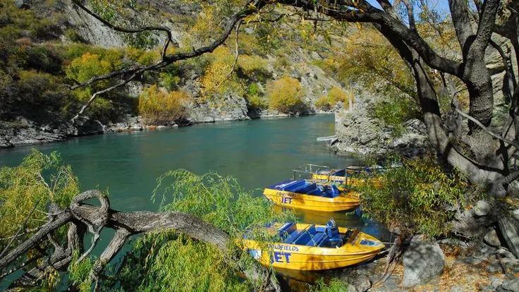 Jetboats at rest http://www.newzealand.com/au/article/jetboating-safari/