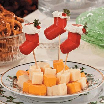 Hot Dog Stocking Appetizers