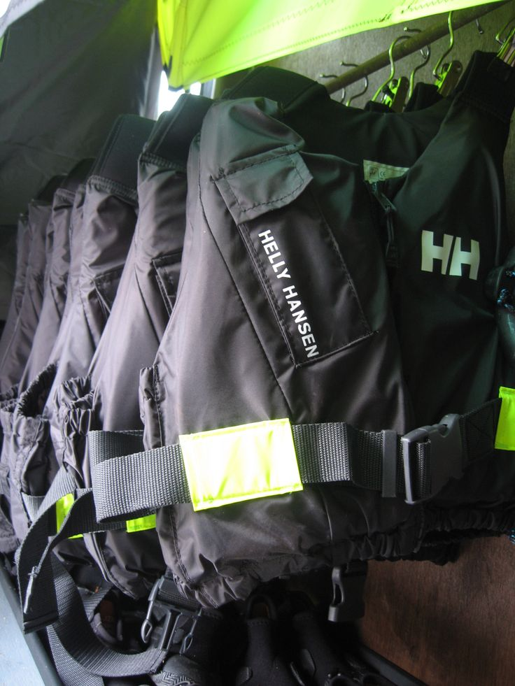 Safety first - all windsurf lessons & rental include the use of these Helly Hanson buoyancy aids.  We also give you wetsuit shoes free of charge!  #windsurfingequipment #windsurfschool #hellyhanson #poolewindsurfing