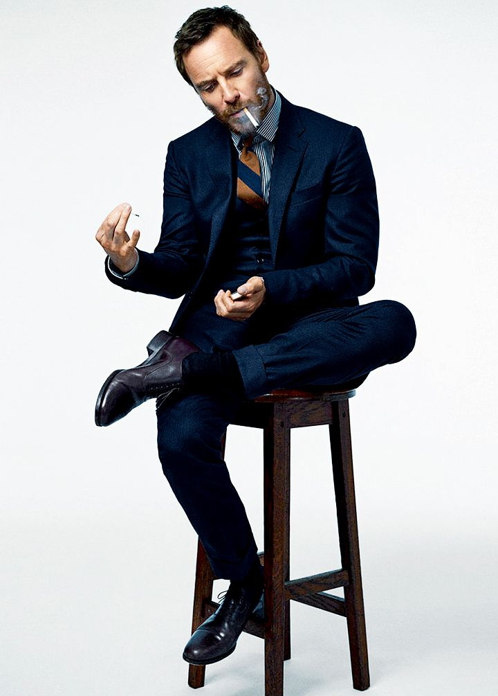 "tedystaleva: ""Michael Fassbender for Esquire 2016, by Cedric Buchet "" Yesssssss"