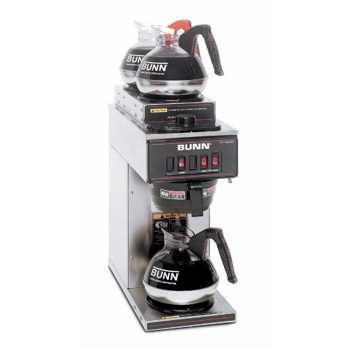 Special Offers - BUNN 13300.0004 VP17-3SS2U Pourover Commercial Coffee Brewer with One Lower and Two Upper Warmers Stainless Steel - In stock & Free Shipping. You can save more money! Check It (June 19 2016 at 03:53AM) >> http://coffeemachineusa.net/bunn-13300-0004-vp17-3ss2u-pourover-commercial-coffee-brewer-with-one-lower-and-two-upper-warmers-stainless-steel/