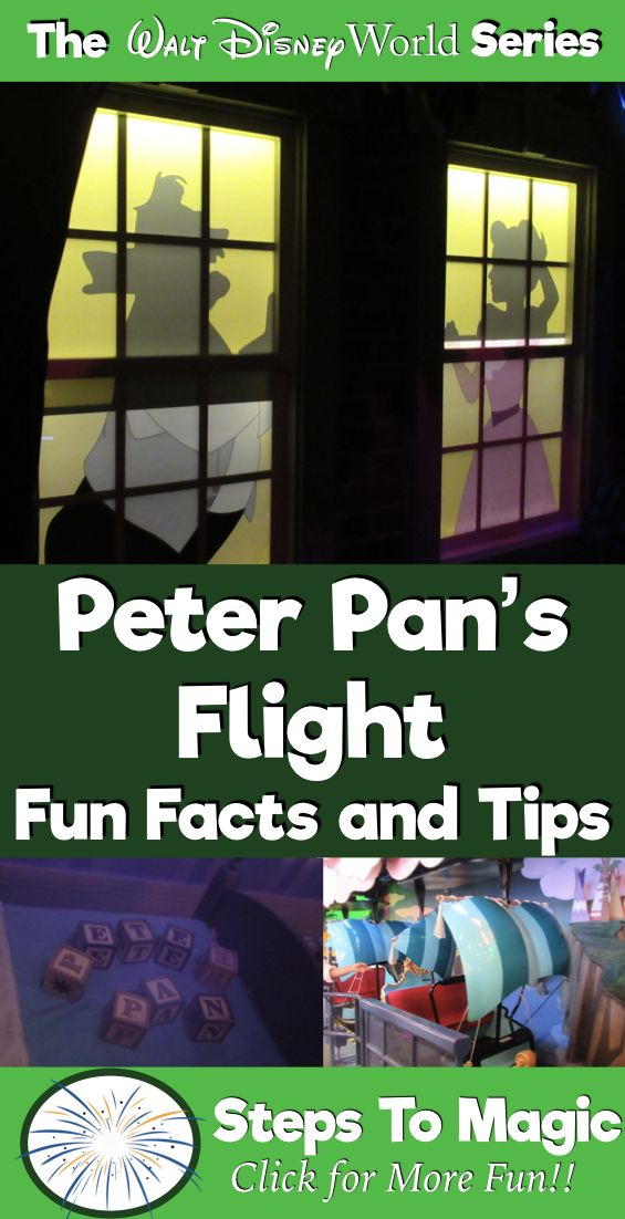Fun Facts about Peter Pan's Flight | ABC's of Disney World