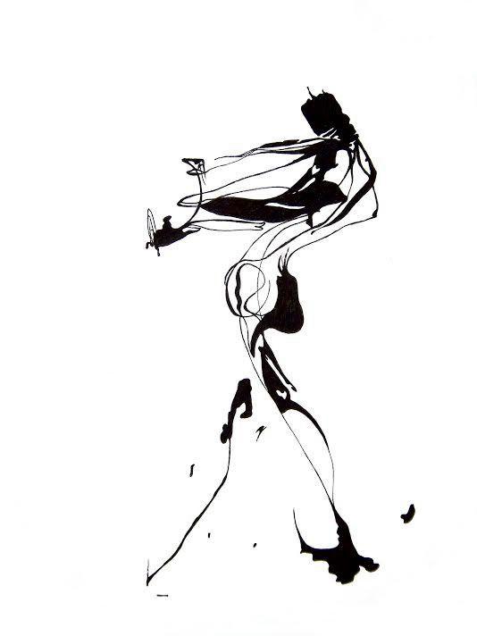 оригинальные картинки абстрактной женской фигуры отправляют