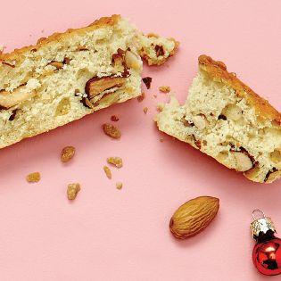 Biscottis à l'érable <br>et aux amandes