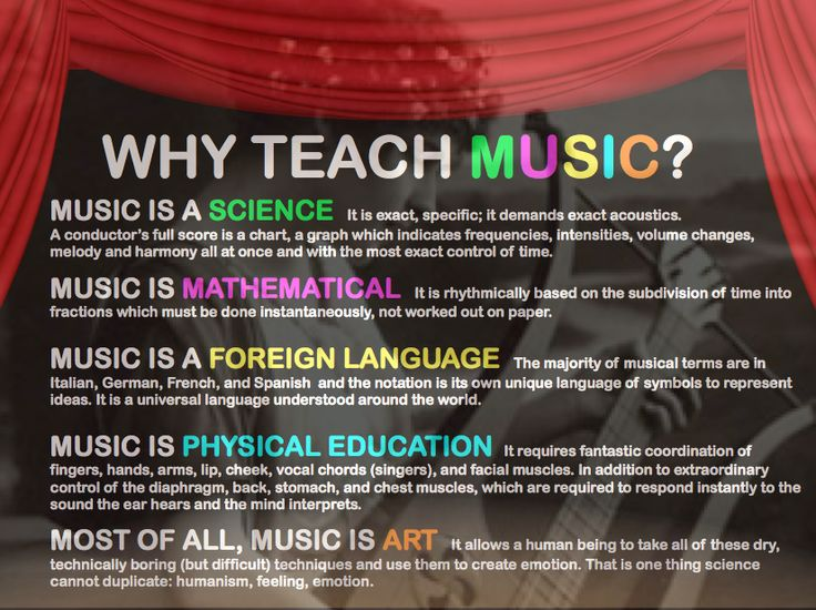 Why Teach Music?  ( Wednesday.  Drum circle/non-pitched. Data projector... with WHY teach Music ? )