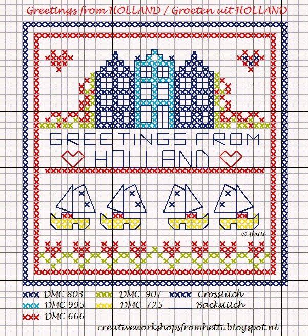 Creative Workshops from Hetti: Groeten uit Holland / Greetings from Holland!