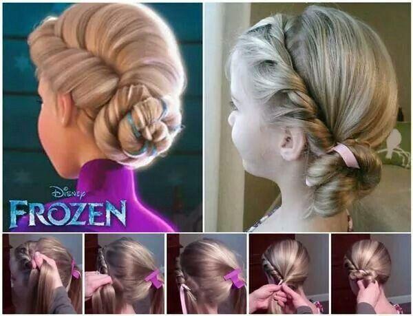 Elsa's Frozen Hair