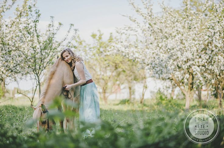 http://dreameyestudio.pl/ #dreameyestudio #girl #blonde #horse #photosession