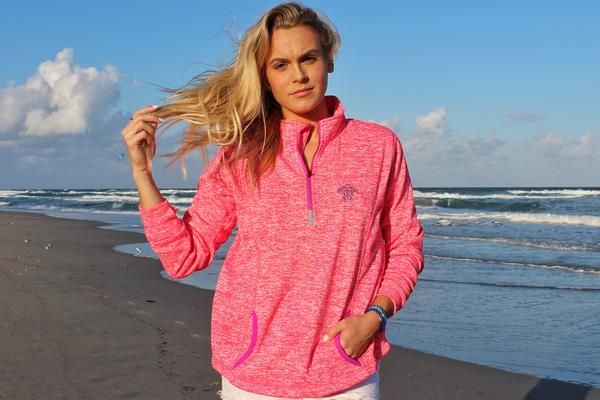 Electric Pink Zip Up 10% off when you use code MIKAYLASTIEBEN10