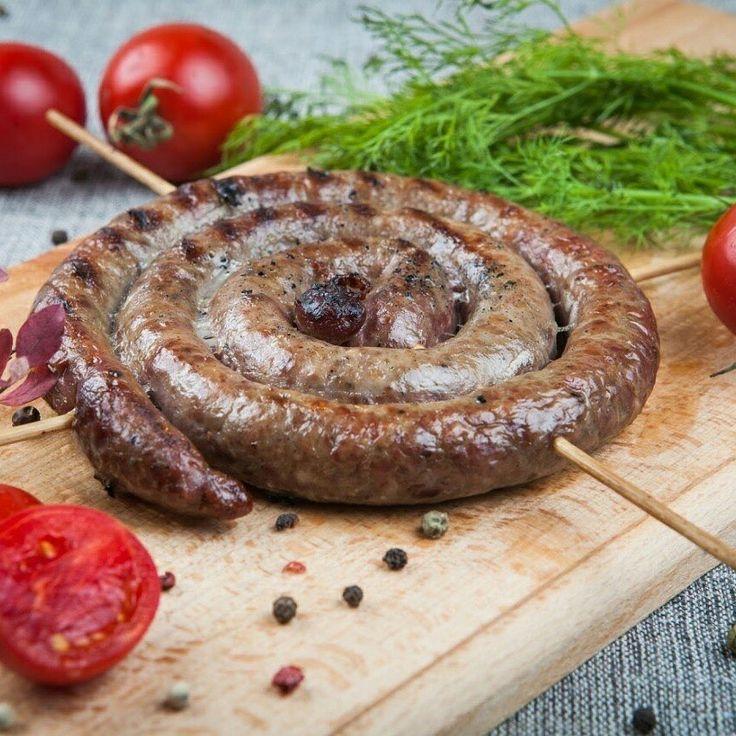 """Колбаска для жарки """"Деревенская"""" от 300руб  #Оленина #колбаска #доставка #СеверноеСияние #заказать #Вкусно #дичь #купить #полезно"""