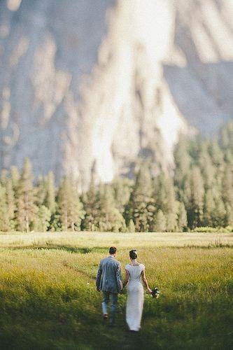 mountain view {yosemite} x wedding ;-)