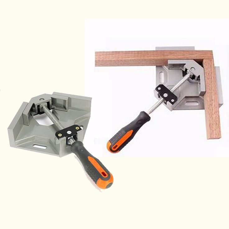 HIgh Quality 90 Degree Corner Right Angle Carbide Vice Clamps Woodworking Frame Gussets For Woodworking Tools #women, #men, #hats, #watches, #belts, #fashion