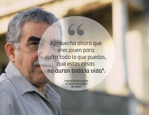 Ver video con Frases Célebres de Gabriel Garcia Marquez http://youtu.be/YoziELZigJI