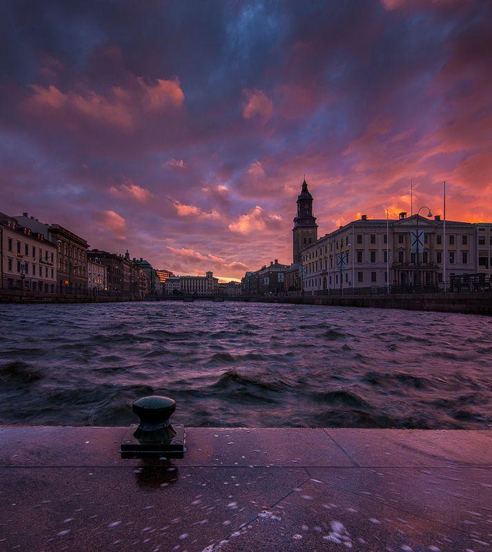 Göteborg Sunset by Dietrich Bojko, via 500px