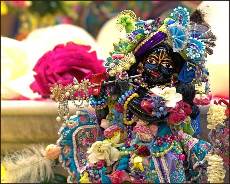 NEVER THINK OF THE DEITY AS MADE OF STONE OR WOOD | Letters of His Divine Grace A. C. Bhaktivedānta Swami Prabhupāda  Bombay 10 November, 1975   To, Jayatirtha das and Manjuali dasi Los Angeles   My dear Jayatirtha das and Man...
