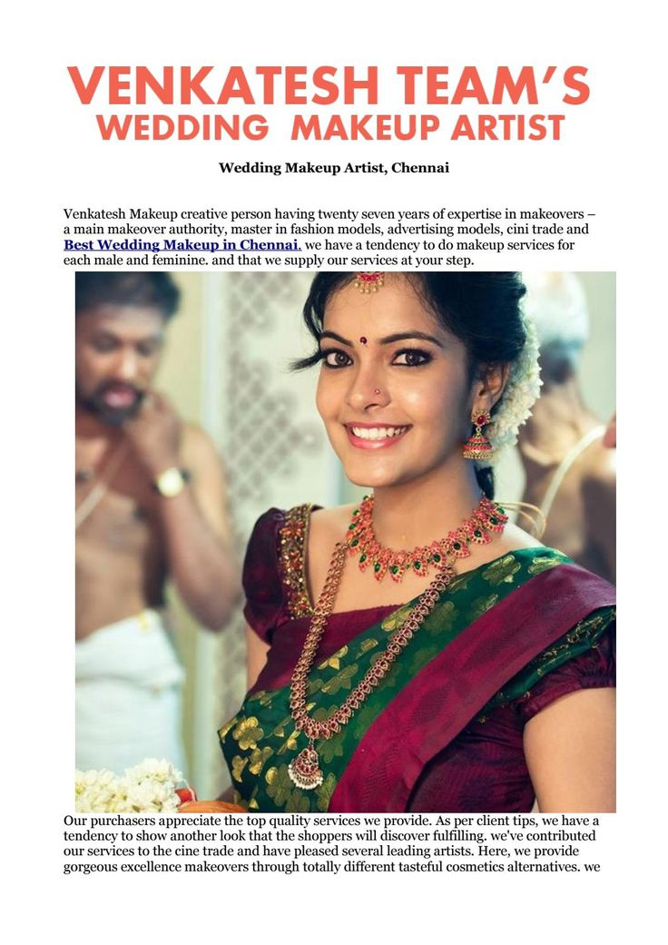 #Best #Wedding #Makeup in #Chennai. visit@ http://freelanceweddingmakeupartist.com/