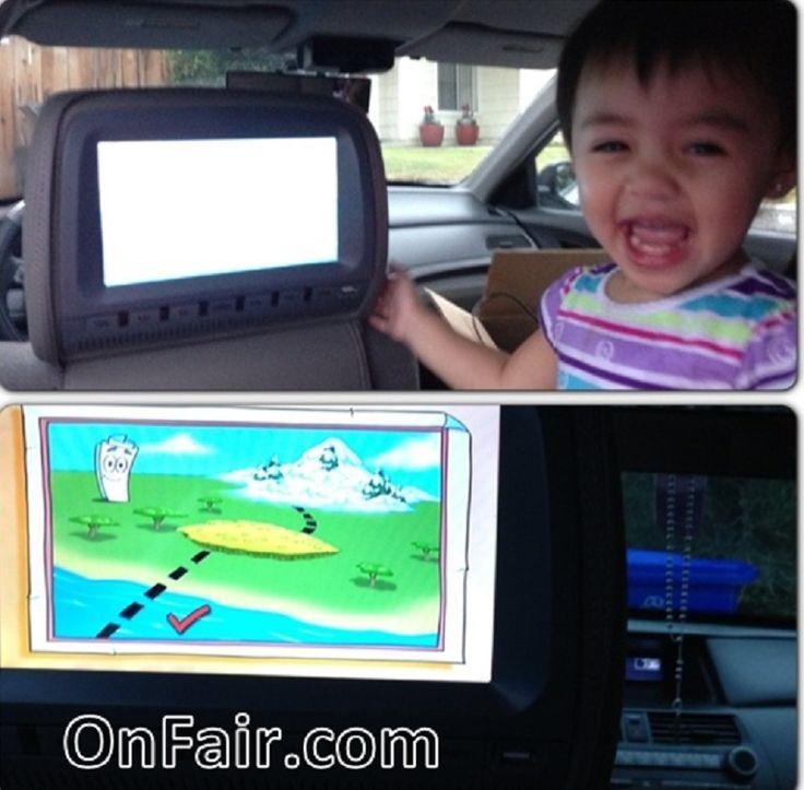 autotain car headrest dvd customer testimonial 2010 honda accord headrestdvdplayer family http