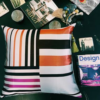 Charcoal Interiors - Style In The City: PEACOCK AND PENNY. LUXURY CUSHION ARRIVALS IN OUR BRISBANE STORE AND ONLINE