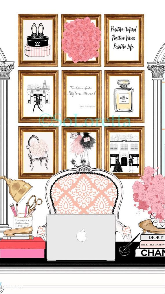 Fashion illustration kate spade art New York art by SoLoretta