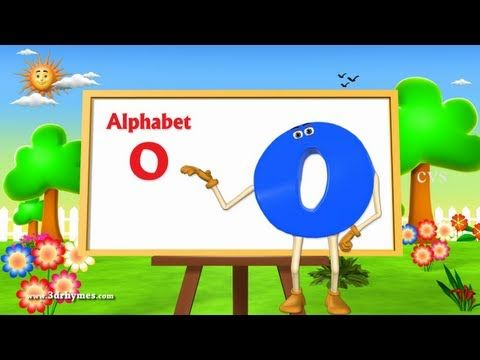 Letter O Song - 3D Animation Learning English Alphabet ABC Songs For children - YouTube