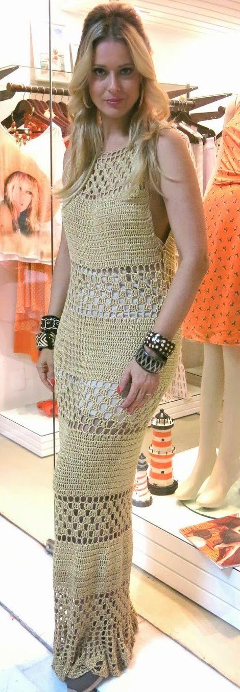 ♥ DIY... Inspiring Crochet Idea ♥ Gorgeous Crochet Dress.