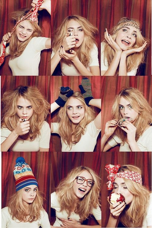 The Many [Funny] Faces of Cara Develingne