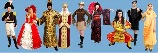Прокат новогодних детских костюмов спб