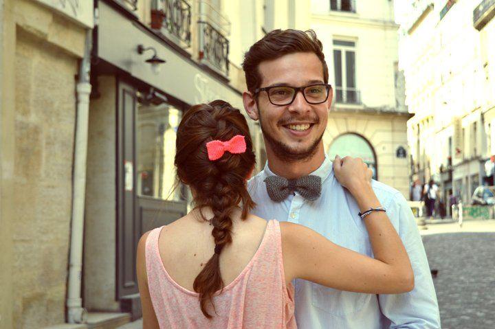 Saint-Valentin : tricoter un nœud papillon pour son homme   Filoute