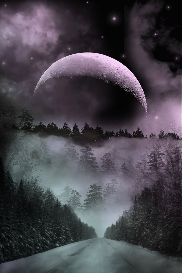 Pin by Jacy Resendez on Artwork that I like | Beautiful moon, Moon pictures, Scenery