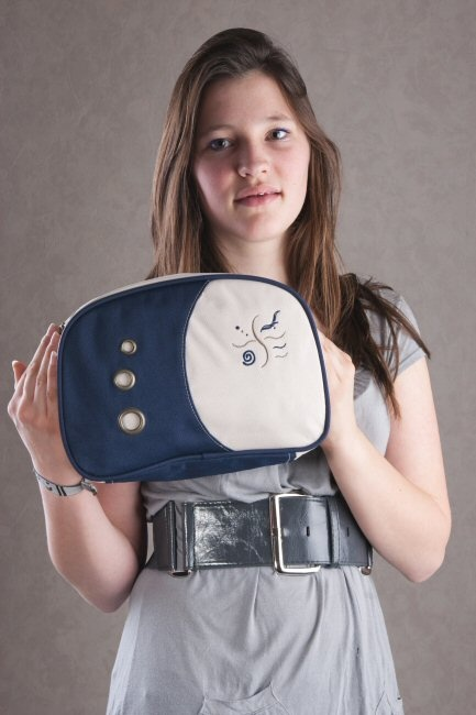 Liliano BE6E blauw Sefanja tassen double7 tassen-mode-nieuws