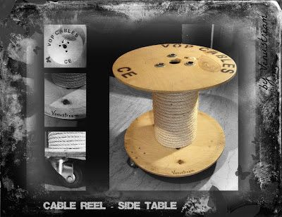 Side Table / Reel