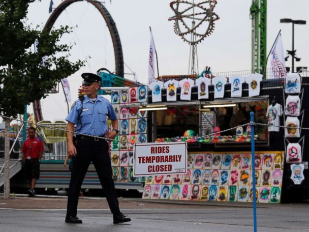 """Ohio State Fair reopens rides for 'normal operations' after deadly accident  The Ohio State Fair will open for """"normal operations"""" this morning with rides reopening on the midway, just days after a ride malfunctioned and killed Tyler Jarrell, 18.  ------------------------------ #news #buzzvero #events #lastminute #reuters #cnn #abcnews #bbc #foxnews #localnews #nationalnews #worldnews #новости #newspaper #noticias"""