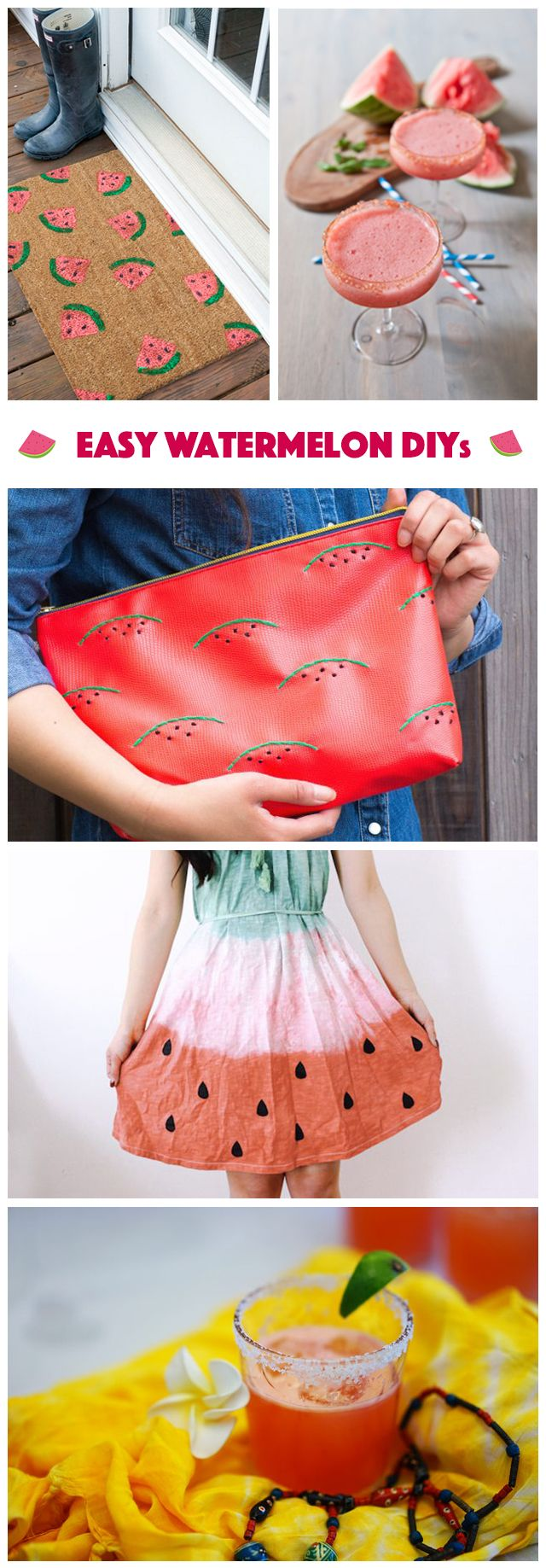 Who doesn't love a juicy watermelon? They are such a summer staple and inspire everything from our menu selections to outfit choices! From crafty to boozy, we've got the best collection of watermelon DIYs right here: http://www.ehow.com/how_12341073_watermelon-diys-feast.html?utm_source=pinterest.com&utm_medium=referral&utm_content=freestyle&utm_campaign=fanpage