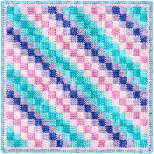 Entrelac Crochet Blanket