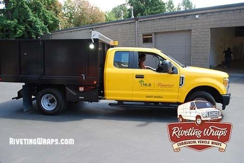 Pin By Riveting Wraps On Landscape Fleet Graphics Trucks