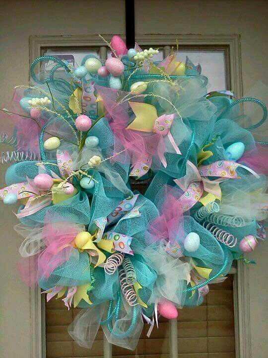 1000 Ideas About Easter Wreaths On Pinterest Spring