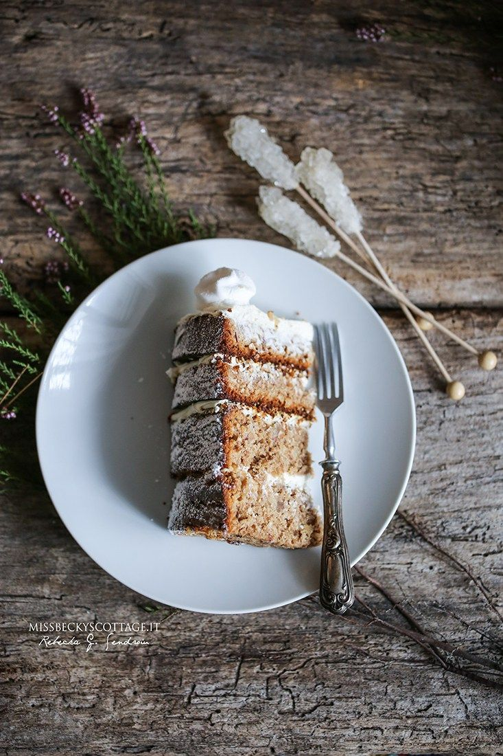 Candied ginger & dates Hummingbird cake. Winter Edition | Miss Becky's Cottage