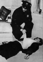 Image  Johnny Stompanato stabbed to death on April 4, 1958.