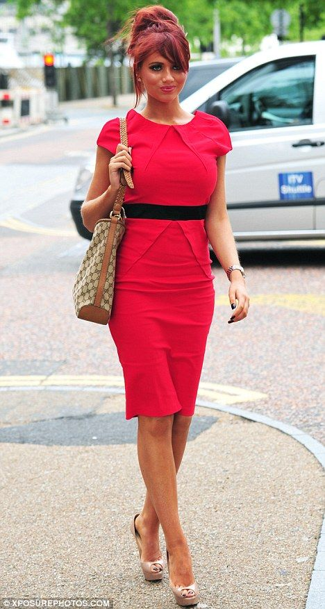 red dress amy childs