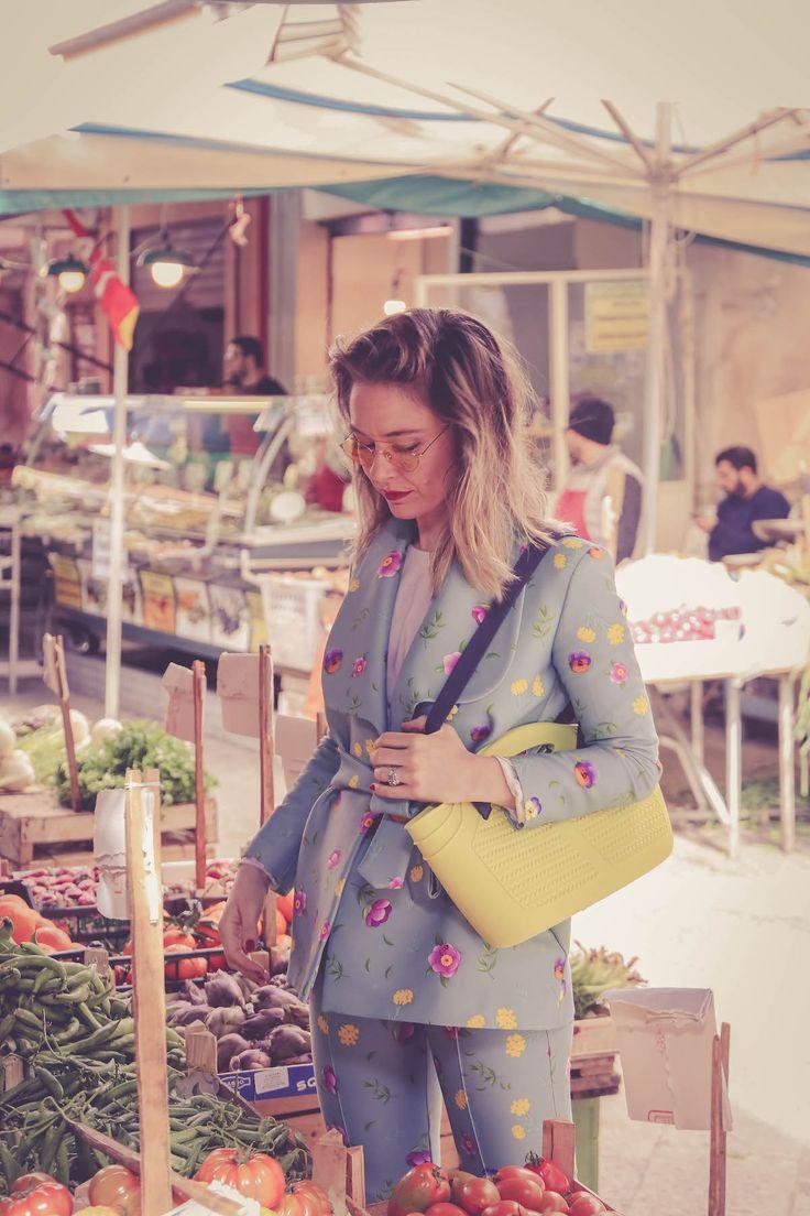 Quattromani look MiaBag bag outfit streetstye travel blogger Palermo Lucia Del Pasqua viaggi Sicily