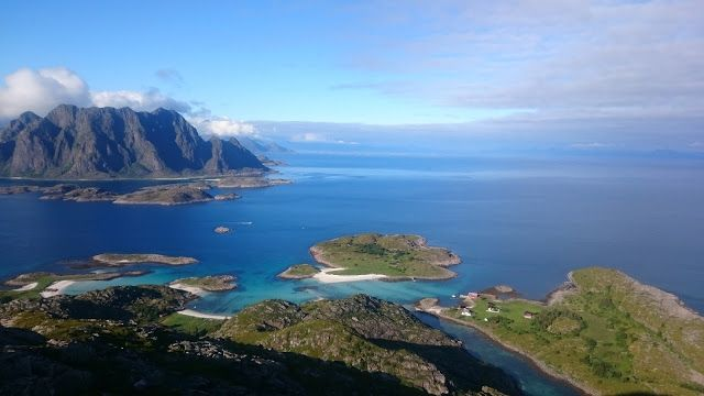 1+2 roti: Nordkapp, pauza la Lofoten