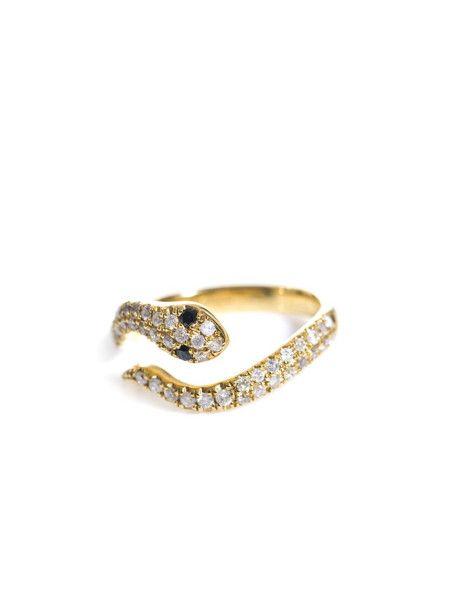 Wrapped White Gold Diamond Ring